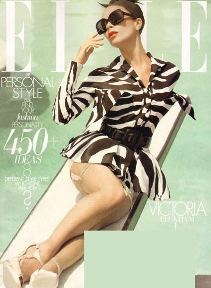 ELLE Cover - 10/1/2009