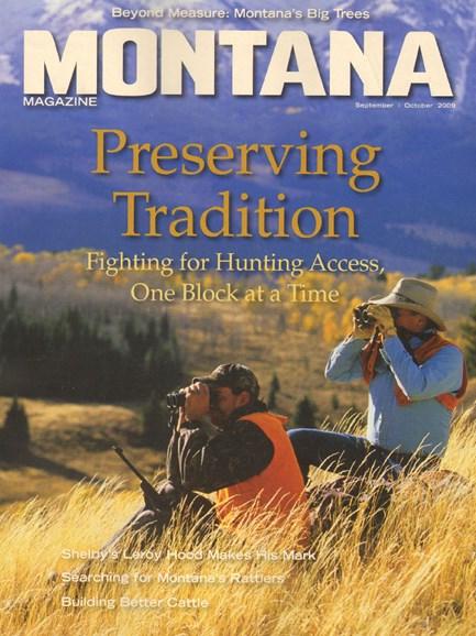 Montana Magazine Cover - 9/1/2009