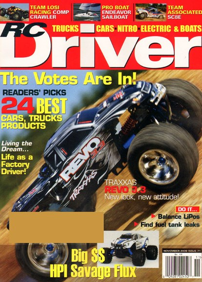 RC Driver Cover - 11/1/2009