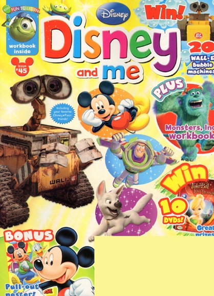Disney Junior Cover - 9/1/2009