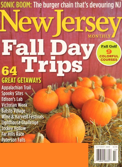 New Jersey Monthly Cover - 10/1/2009