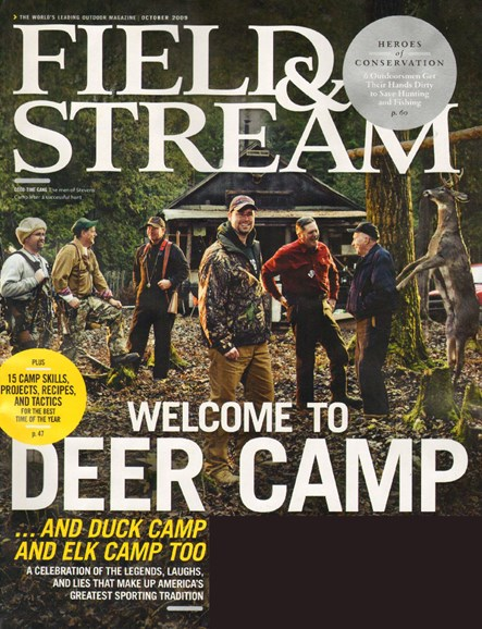 Field & Stream Cover - 10/1/2009