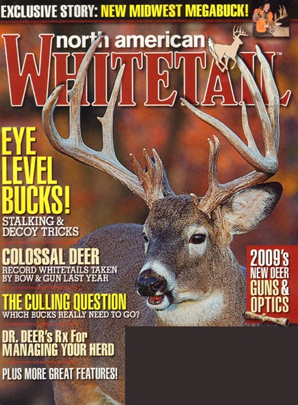 North American Whitetail Cover - 10/1/2009