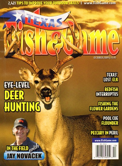 Texas Fish & Game Cover - 10/1/2009