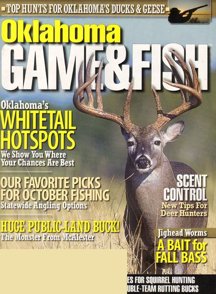 Oklahoma Game & Fish Cover - 10/1/2009