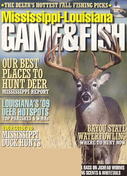 Mississippi Game & Fish Cover - 10/1/2009