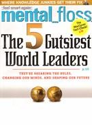 Mental Floss Magazine 9/1/2009