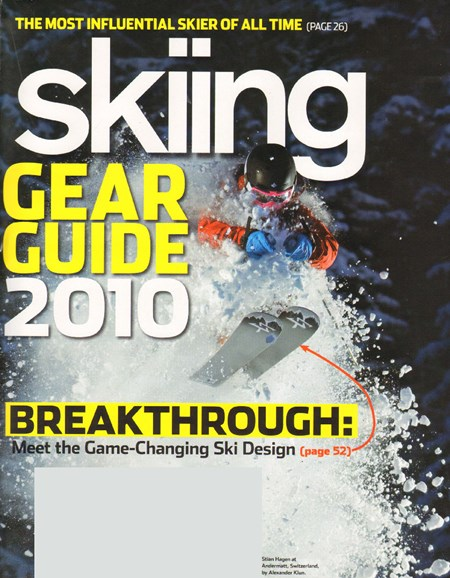 Skiing Cover - 9/1/2009
