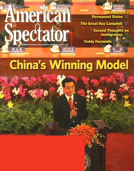 The American Spectator Cover - 10/1/2009