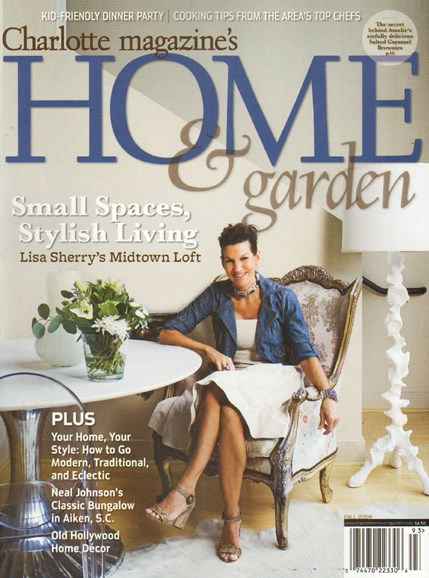 Charlotte Home & Garden Cover - 11/1/2009