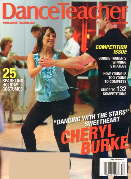 Dance Teacher Cover - 10/1/2009