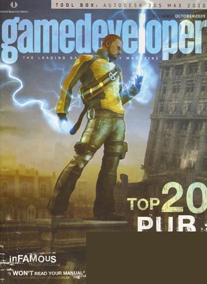 Game Developer Cover - 10/1/2009