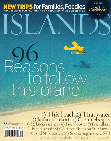 Islands Cover - 11/1/2009