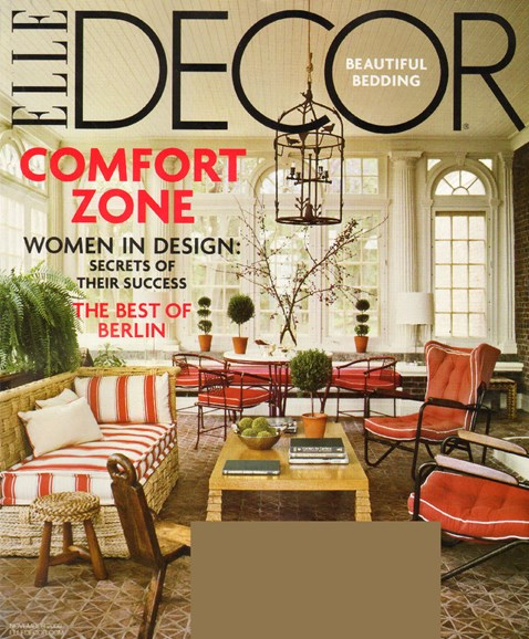 ELLE DECOR Cover - 11/1/2009