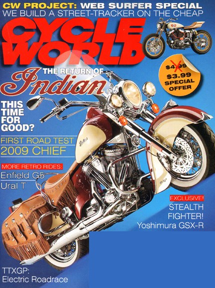 Cycle World Cover - 11/1/2009