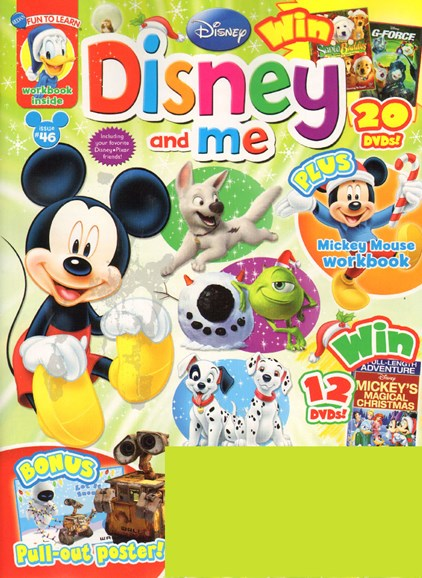 Disney Junior Cover - 11/1/2009