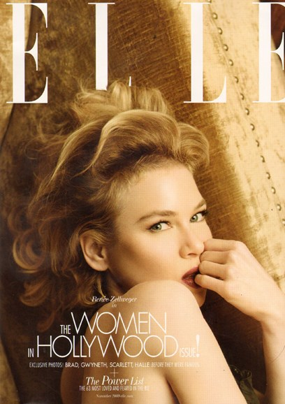 ELLE Cover - 11/1/2009