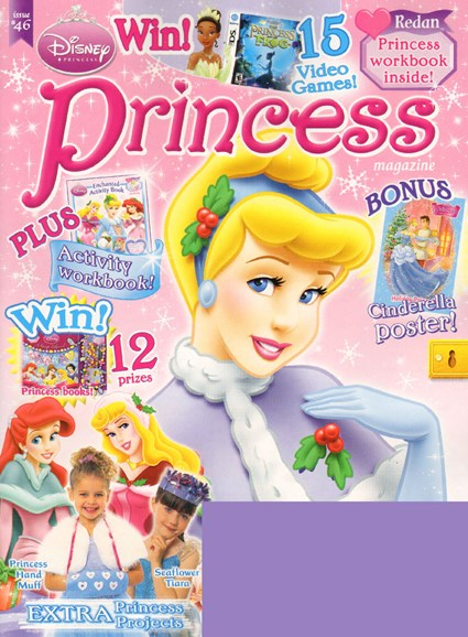 Disney Princess Cover - 11/1/2009