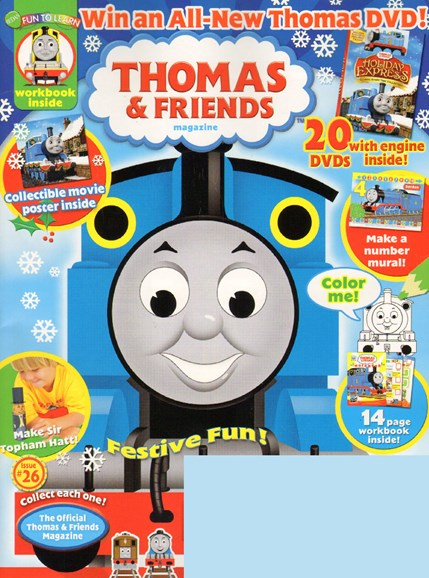 Thomas & Friends Cover - 11/1/2009