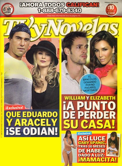 Tv Y Novelas Cover - 10/10/2009