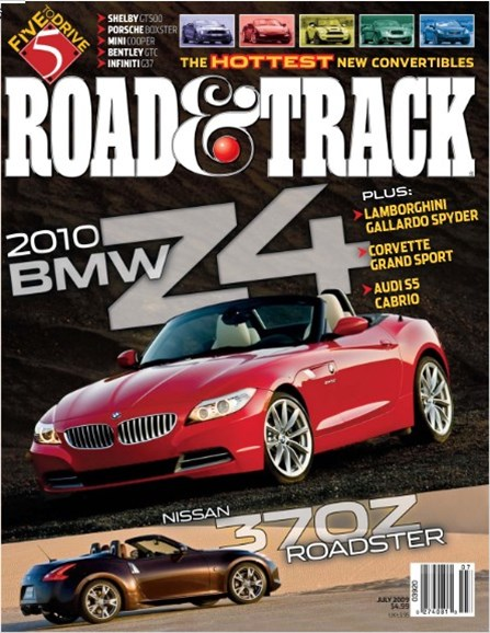 Road & Track Cover - 7/1/2009