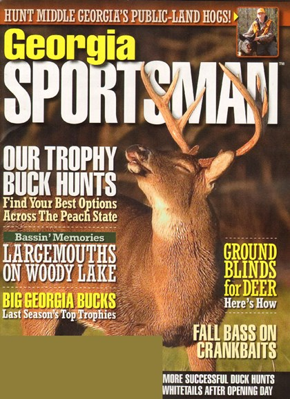 Georgia Sportsman Cover - 11/1/2009