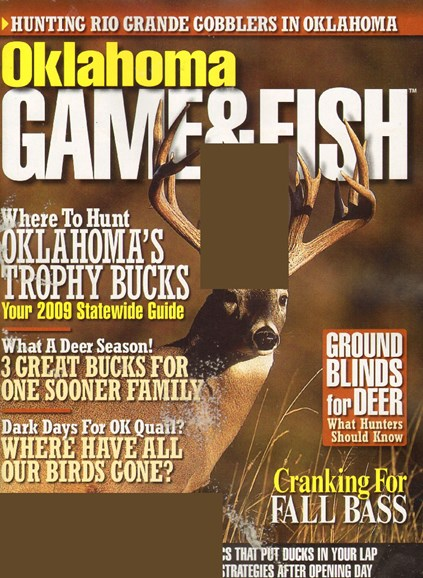 Oklahoma Game & Fish Cover - 11/1/2009