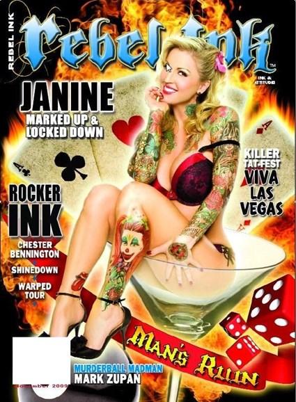 Rebel Ink Cover - 11/1/2009
