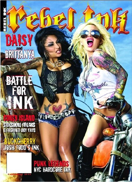 Rebel Ink Cover - 10/1/2009
