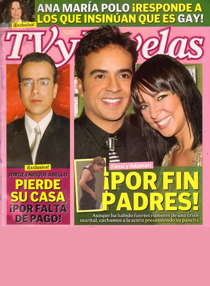 Tv Y Novelas Cover - 11/1/2009