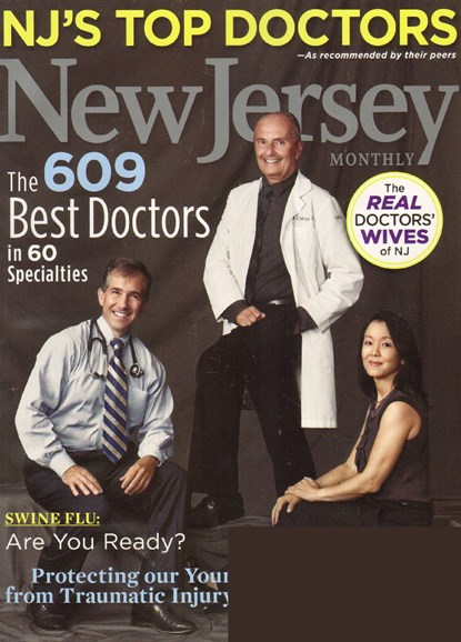 New Jersey Monthly Cover - 11/1/2009