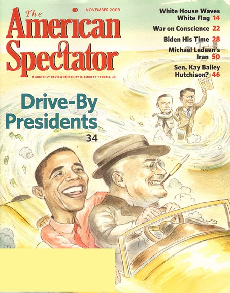 The American Spectator Cover - 11/1/2009