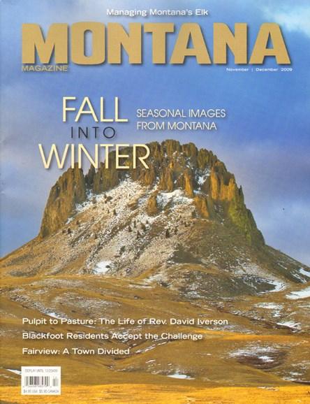 Montana Magazine Cover - 11/1/2009