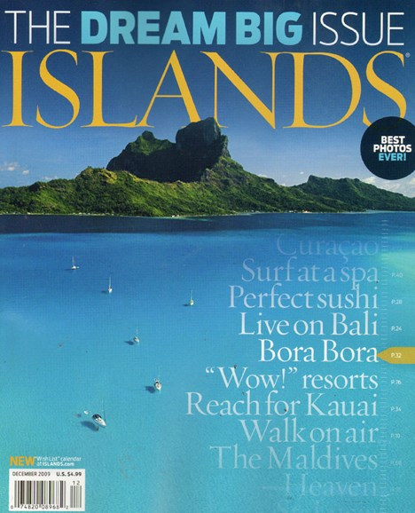 Islands Cover - 12/1/2009