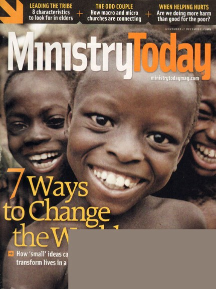 Ministry Today Cover - 11/1/2009