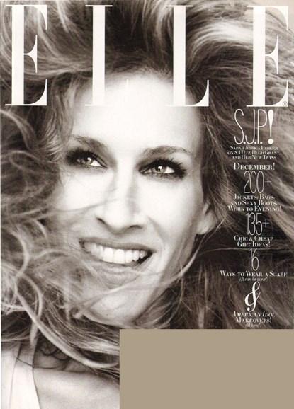 ELLE Cover - 12/1/2009
