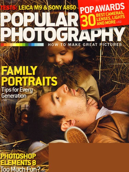 Popular Photography Cover - 12/1/2009
