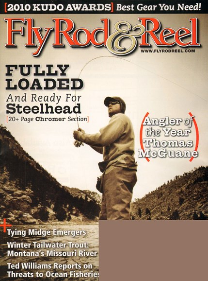 Fly Rod & Reel Magazine Cover - 12/1/2009