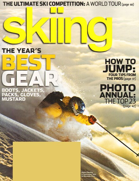 Skiing Cover - 12/1/2009