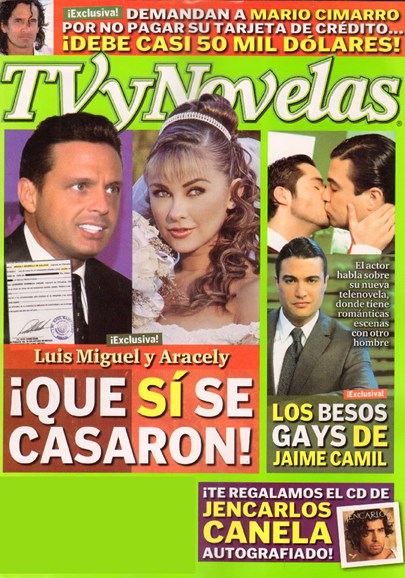 Tv Y Novelas Cover - 11/17/2009