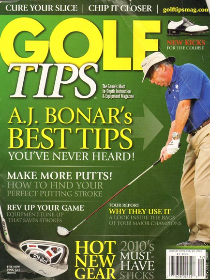 Golf Tips Cover - 11/1/2009