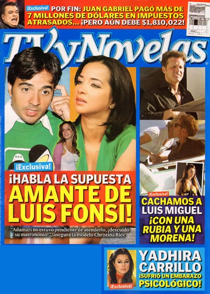 Tv Y Novelas Cover - 12/1/2009