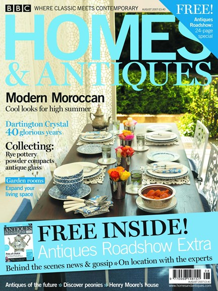 Homes & Antiques Cover - 8/1/2007