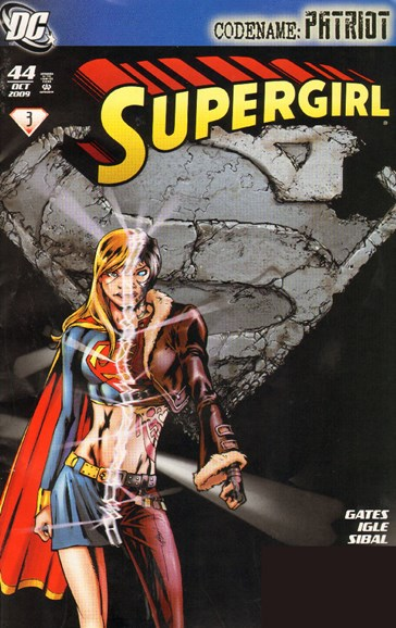 Supergirl Cover - 10/1/2009
