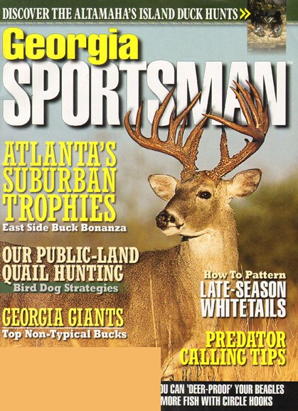 Georgia Sportsman Cover - 12/1/2009