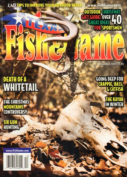 Texas Fish & Game Cover - 12/1/2009