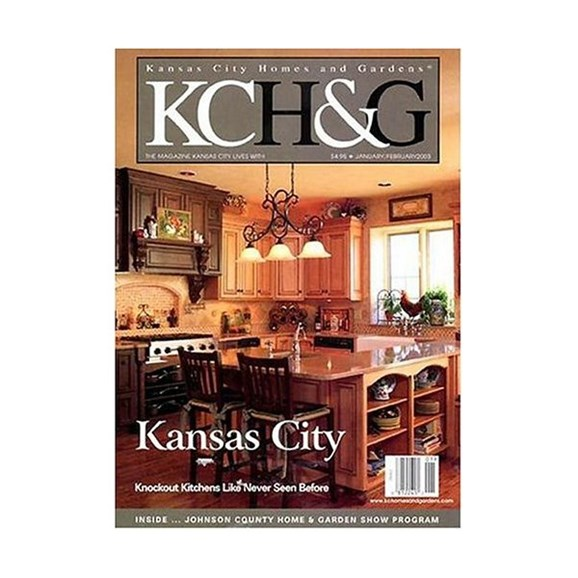 Kansas City Homes & Gardens Cover - 12/1/2009