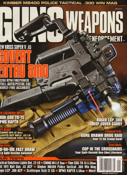 Guns & Weapons For Law Enforcement Cover - 1/1/2010