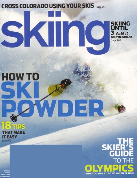 Skiing Cover - 1/1/2010