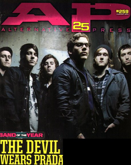 Alternative Press Cover - 2/1/2010